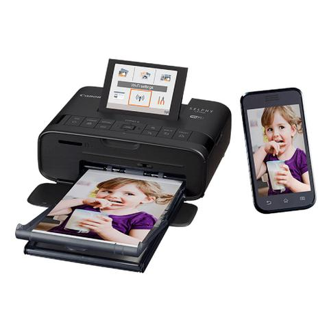 Imagem de Impressora fotográfica Canon Selphy CP1300 c/ Wi-Fi + Kit toners e SD 8GB