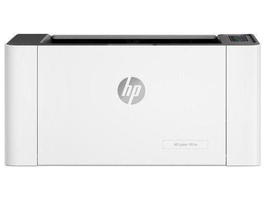 Imagem de Impressora HP Laser 107W Preto e Branco Wi-Fi