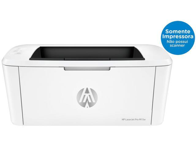 Imagem de Impressora HP LaserJet Pro M15w