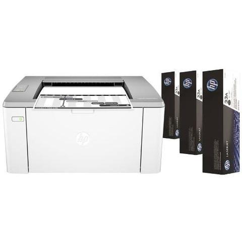 Imagem de Impressora HP M106W Laser Jet Ultra