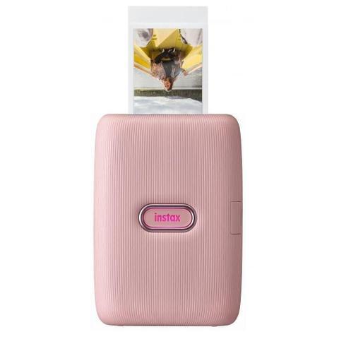 Impressora Fotográfica Fujifilm Instax Rosa Transferência Térmica Colorida Usb e Wi-fi Bivolt