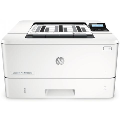 Imagem de Impressora Mono HP Laserjet Pro M402DNE - Rede, Duplex, Ethernet
