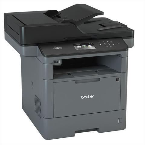 Imagem de Impressora Multifuncional Brother DCP-L5652DN DCP L5652 Laser Monocromática com Duplex e Rede