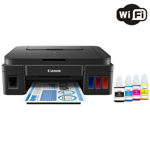 Imagem de Impressora Multifuncional Canon Pixma Maxx Tinta G3100 Tanque de Tinta Colorida Wireless