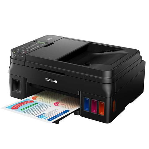 Imagem de Impressora Multifuncional Canon Tanque De Tinta Pixma Maxx G4100 Wifi