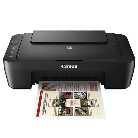 Imagem de Impressora Multifuncional Canon Wifi  Jato de Tinta Pixma MG3010 Xerox Copiadora Scanner