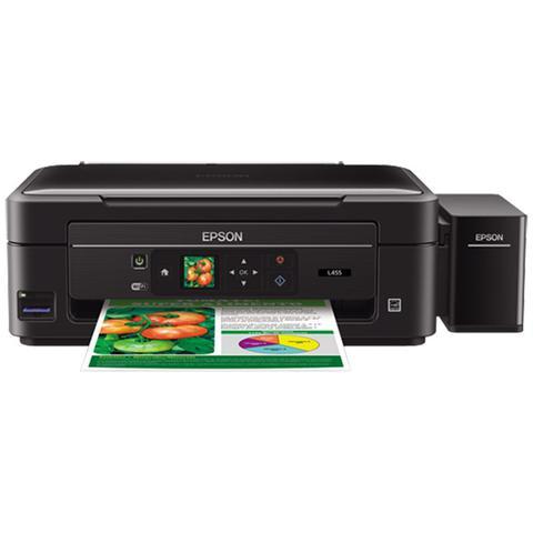 Imagem de Impressora Multifuncional Colorida Jato De Tinta Ecotank L455 Epson