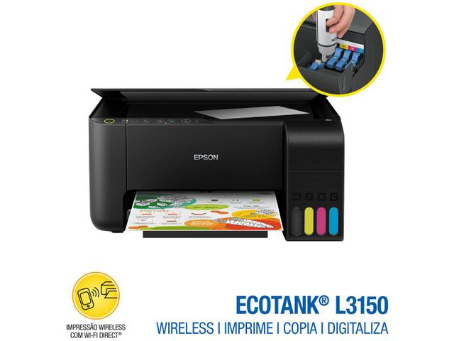 Imagem de Impressora Multifuncional Epson EcoTank L3150