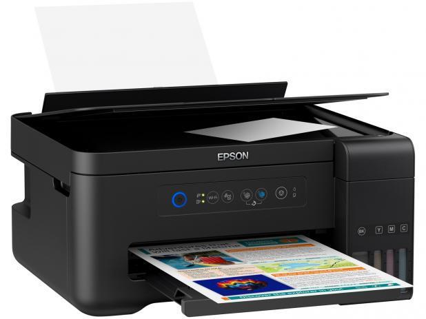 Imagem de Impressora Multifuncional Epson EcoTank L4150 - Tanque de Tinta Wi-Fi Colorida USB