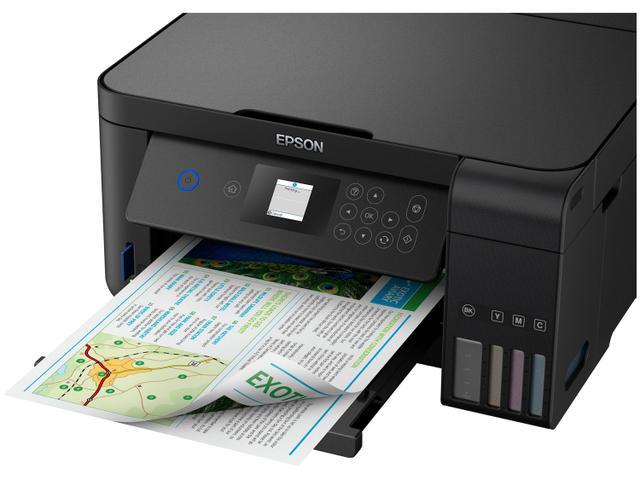 Imagem de Impressora Multifuncional Epson EcoTank L4160