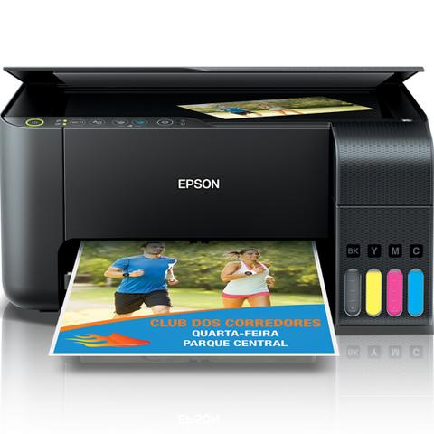 Imagem de Impressora Multifuncional Epson Tanque de Tinta Colorida Wi-Fi EcoTank Bivolt - L3150