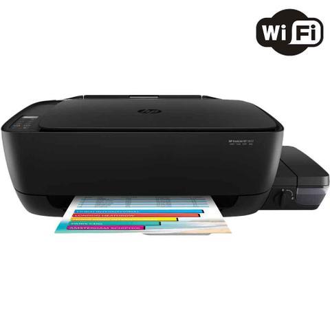 Multifuncional Hp Preto Gt5822 Jato de Tinta Colorida Usb e Wi-fi Bivolt