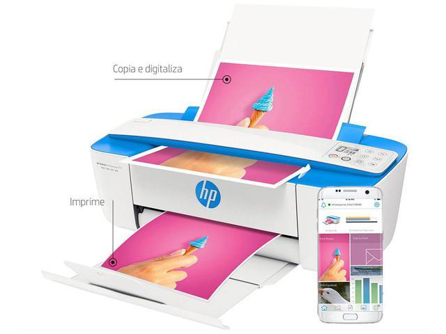 Imagem de Impressora Multifuncional HP DeskJet Ink 3776