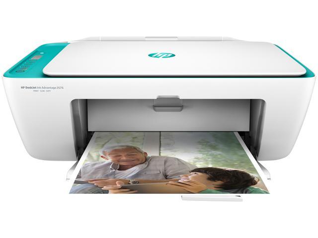 Imagem de Impressora Multifuncional HP Deskjet Ink Advantage 2676 - Jato de Tinta Wi-Fi USB 2.0