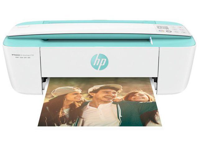 Imagem de Impressora Multifuncional HP Deskjet Ink Advantage