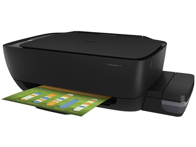 Imagem de Impressora Multifuncional HP Ink Tank 316