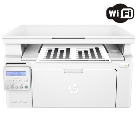 Imagem de Impressora Multifuncional HP LaserJet Pro M130NW Laser Mono Wi-Fi 110V