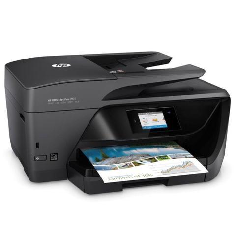 Imagem de Impressora Multifuncional Jato De Tinta Color HP J7K34A696 OJ Pro 6970 Duplex
