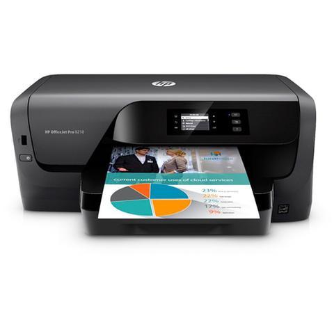 Impressora Convencional Hp Officejet Pro Color 8210 D9l63a Jato de Tinta Colorida Usb, Ethernet e Wi-fi Bivolt