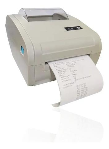Imagem de Impressora Térmica Etiqueta  Codigo Barras 100mm Usb