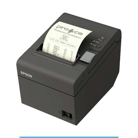 Impressora Térmica Não Fiscal Epson Tm-t20 Transferência Térmica Monocromática Ethernet Bivolt