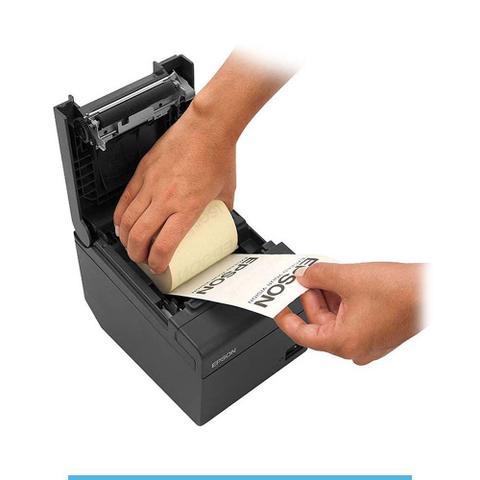 Imagem de Impressora térmica não fiscal Epson TM-T20 Ethernet