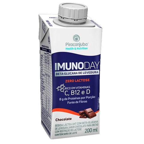Imagem de Imunoday Chocolate Zero Lactose 200ml - Piracanjuba