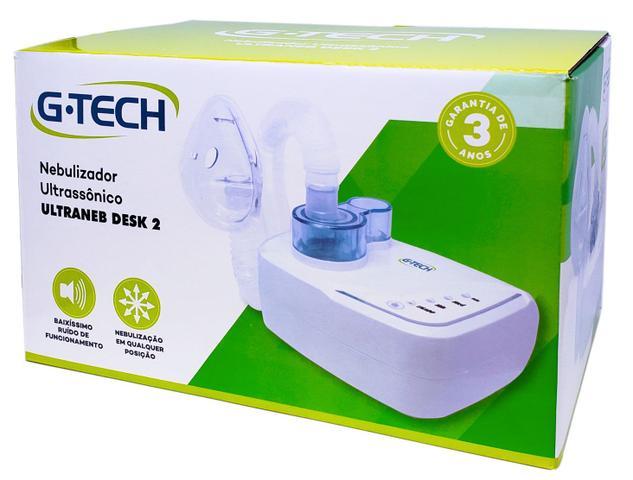 Imagem de Inalador e Nebulizador Ultrassônico Ultraneb Desk 2 - G-tech