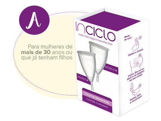Imagem de Inciclo Coletor Menstrual C/2 Unid A + Panelinha