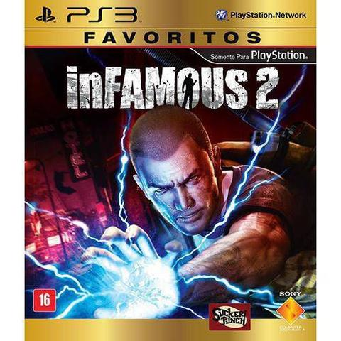 Jogo Infamous 2 - Playstation 3 - Sieb
