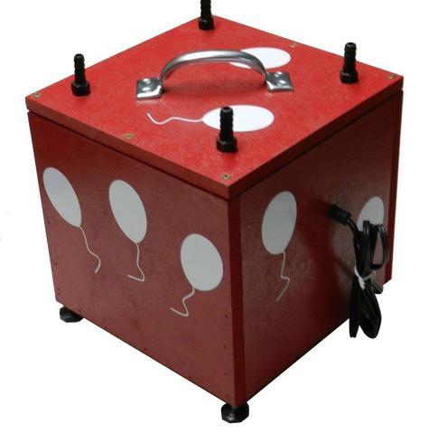 Imagem de Inflador Em Mdf, Compressor, Bomba De Balões, Bexigas, Bolas, Balão, Festas