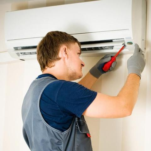 Imagem de Instalação de Ar condicionado Split Hi Wall de 7000 a 12000 BTUs