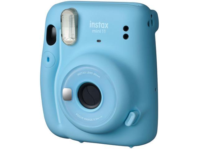 Imagem de Instax Mini 11 Fujifilm Azul Flash Automático