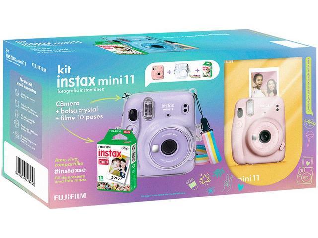 Imagem de Instax Mini 11 Fujifilm Rosa Flash Automático