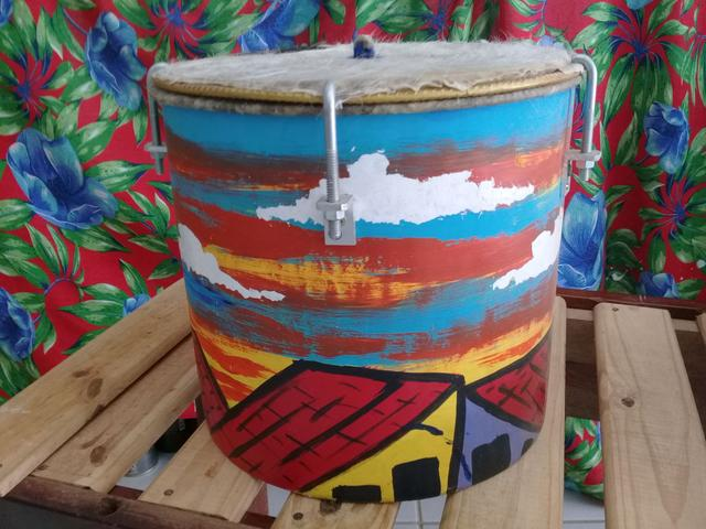 Imagem de Instrumento de percussão Tambor-onça