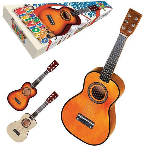 Imagem de Instrumento Musical Violao Mini de Madeira 58,5CM