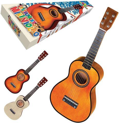 Imagem de Instrumento Musical Violao Mini de Madeira 58,5CM ART BRINK