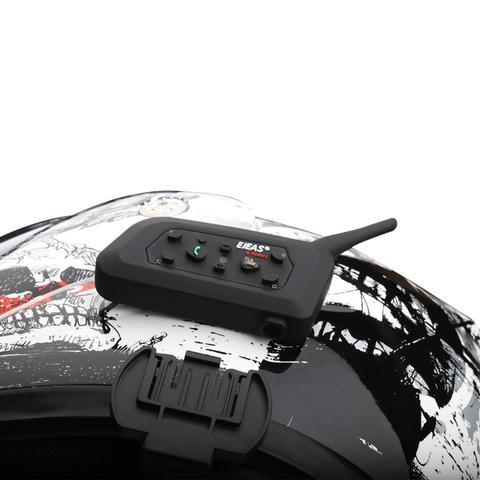 Imagem de Intercomunicador V6 Pro Moto Capacete 1200M Ejeas + M Splint