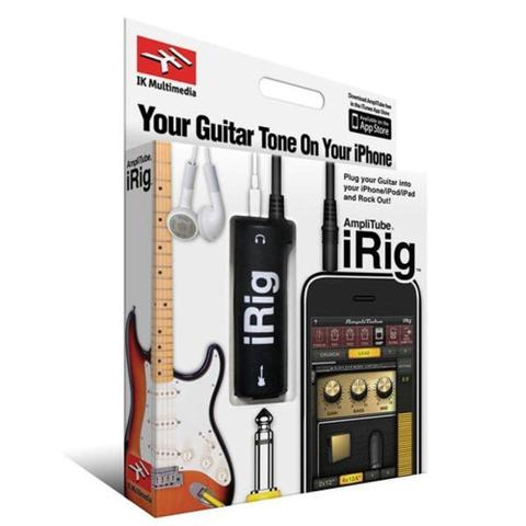 Imagem de Interface Adaptador De Guitarra Para iPhone iPod Touch iPad iRig AmpliTube - IK Multimedia