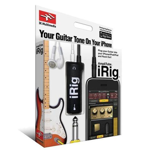 Imagem de Interface Adaptador De Guitarra Para iPhone iPod Touch iPad iRig AmpliTube - IK Multimedia