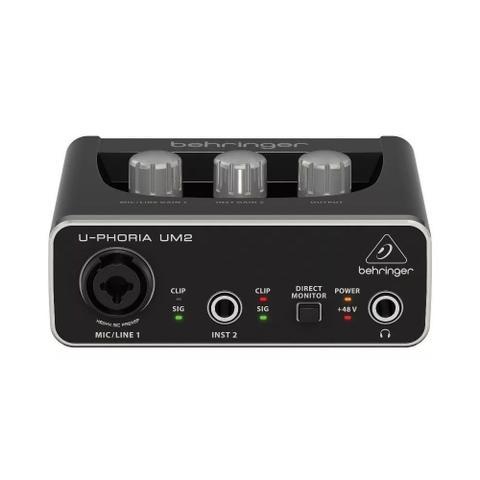 Imagem de Interface De Áudio Behringer U-phoria Um2 Usb