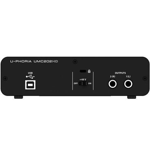 Imagem de Interface de Audio Behringer UMC202HD
