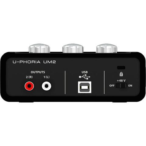 Imagem de Interface De Audio Behringer Uphoria UM2