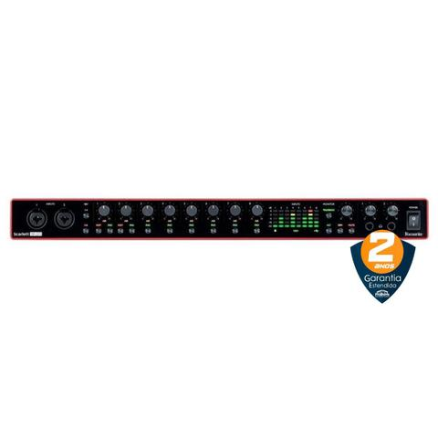 Imagem de Interface de Áudio Behringer USB Focusrite Scarlett 18i20 gen. 2 c/ 18 in/20 out