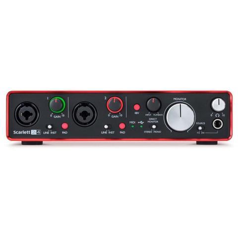 Imagem de Interface de Áudio Focusrite Scarlett 2i4 2º Geração