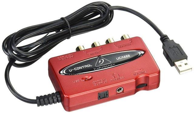 Imagem de Interface de Áudio para Gravação Behringer UCA222 c/ USB
