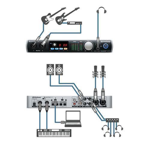 Imagem de Interface de Áudio Presonus QUANTUM 2 Thunderbolt