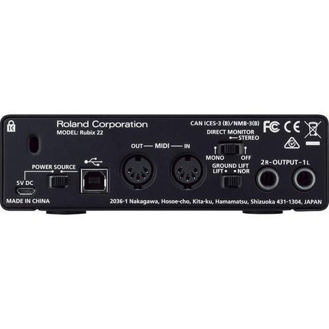 Imagem de Interface de Audio Roland RUBIX22