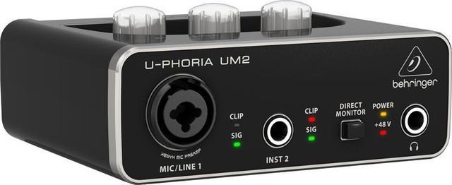 Imagem de Interface de audio - UM2 - Behringer