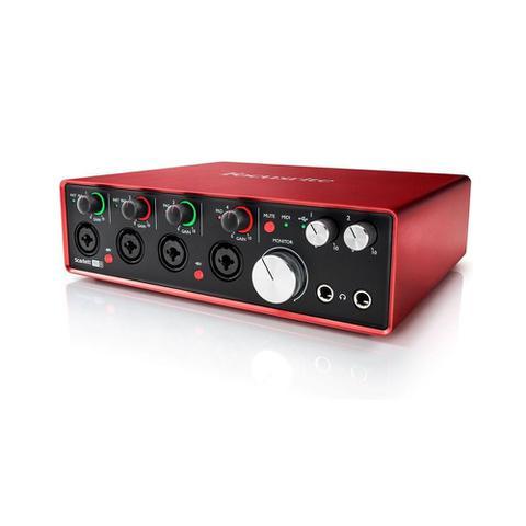 Imagem de Interface de Áudio USB Focusrite Scarlett 18i8 gen. 2 c/ 18 in/8 out